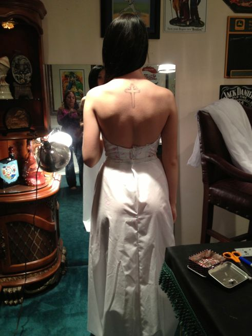 Fitting Back View
