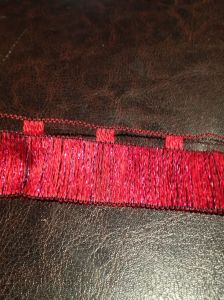 Red Ribbon Yarn