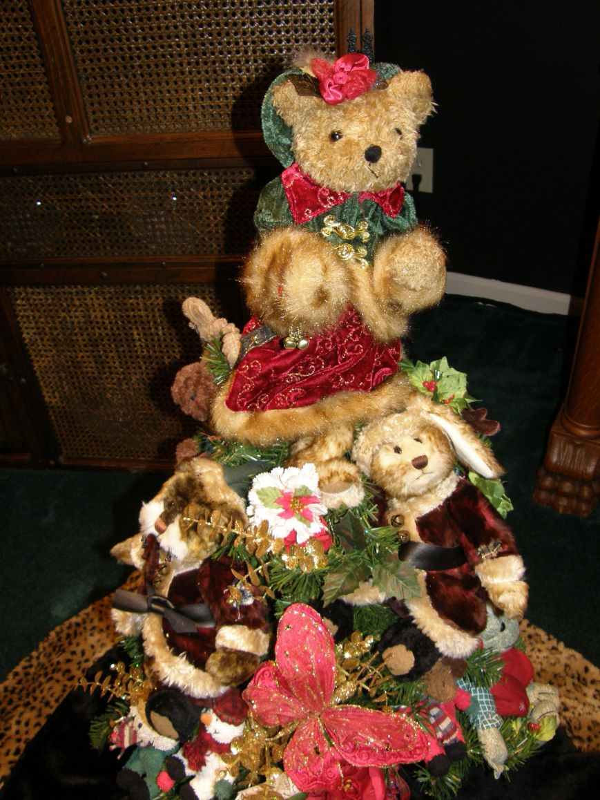Teddy Bear Tree Topper.