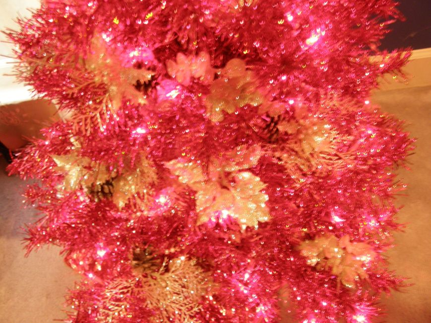 This tree is so sparkly that I could not capture the true beauty of it.