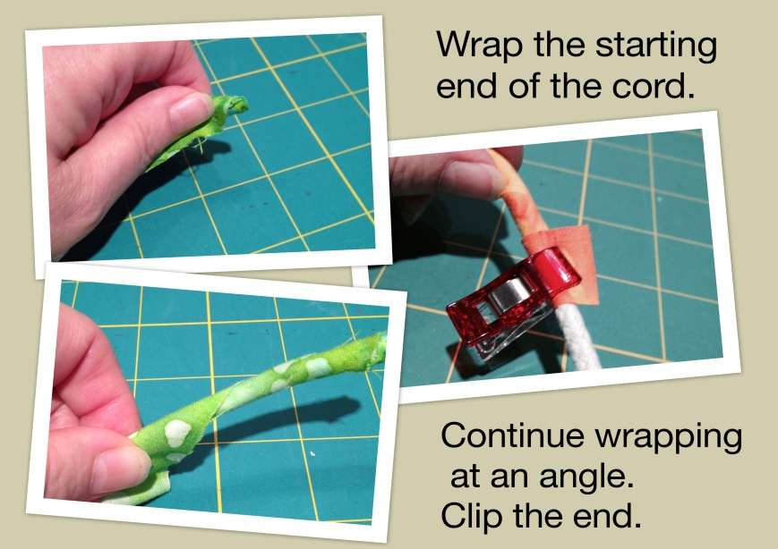 Wrapping cord 1