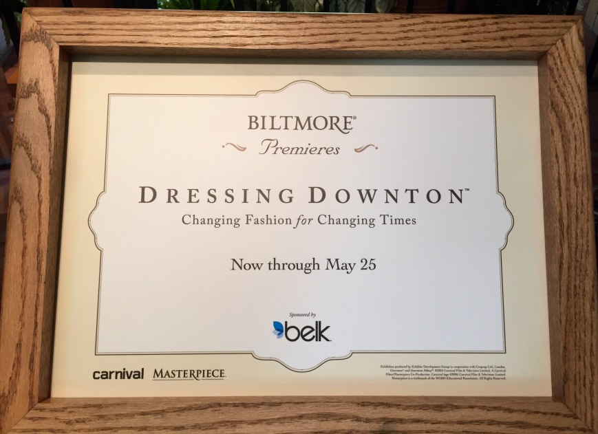 Dressing Downton Sign