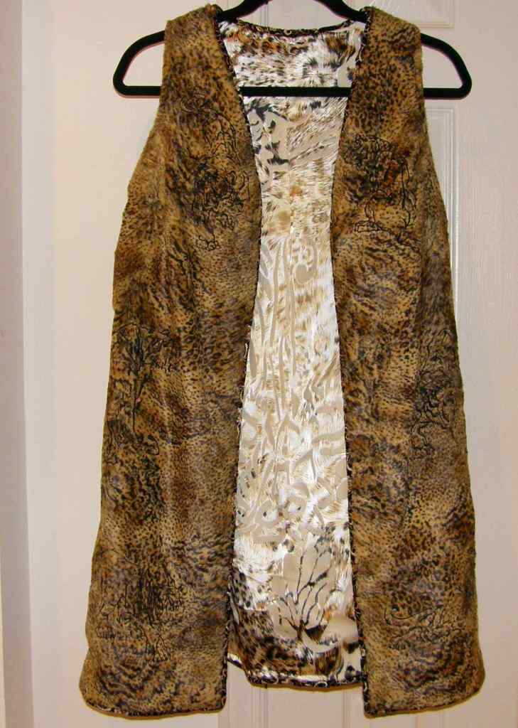 Vest Showing Lining